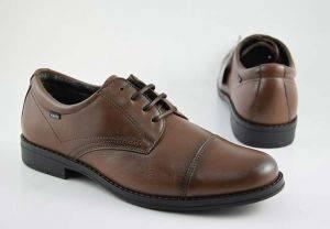 Zapato vestir casual hombre cordones Baerchi 3621 marron