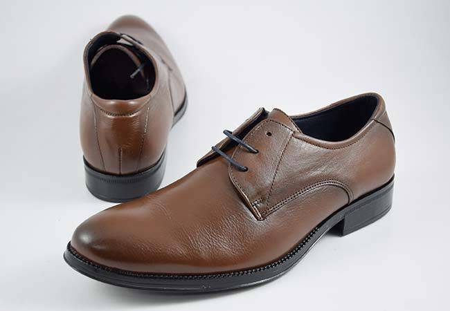 Zapato vestir casual hombre cordones Baerchi 2751 marron