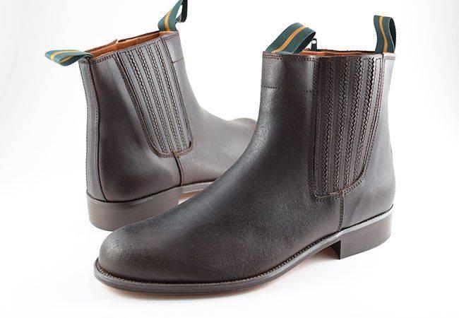 Botín piel engrasada Dakota Boots Valverde del camino