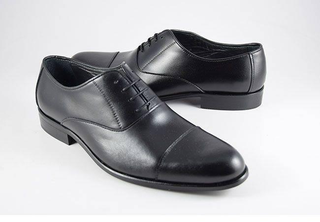 Zapato vestir negro fenatti para hombre 4042