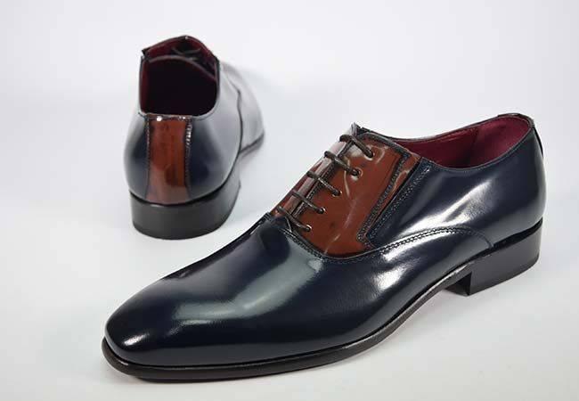 Zapato vestir hombre florentic JR Jimenez 181-L azul