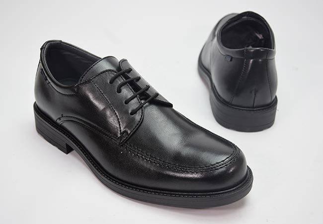 Blucher vestir ancho especial Baerchi 1802 negro