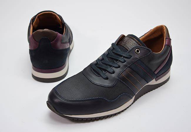Sneaker casual cordones DJ Santa 3980 marino