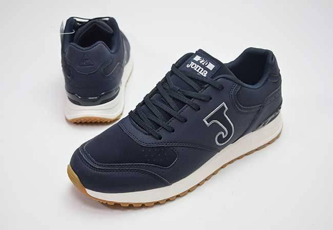 Zapato sneaker cordones piel Joma 270W2003 azul