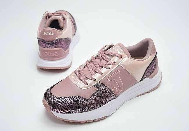 Sneaker mujer cordones Joma C2022013 rosa