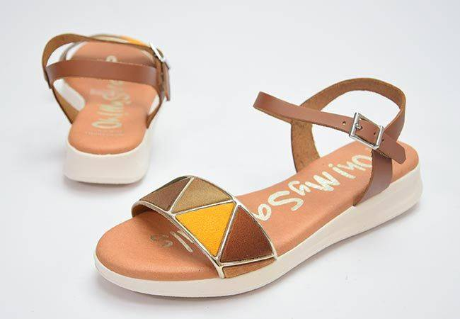Sandalia plana Oh My Sandals 4829 cuero