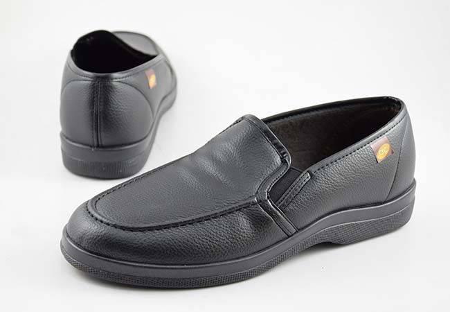 Zapatilla de calle mocasín de hombre Doctor Cutillas 21297 negro