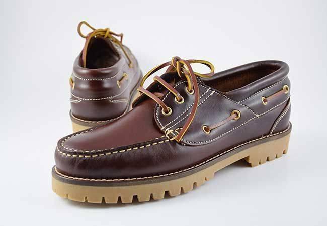 Zapato naútico hombre Molina 20400 marrón