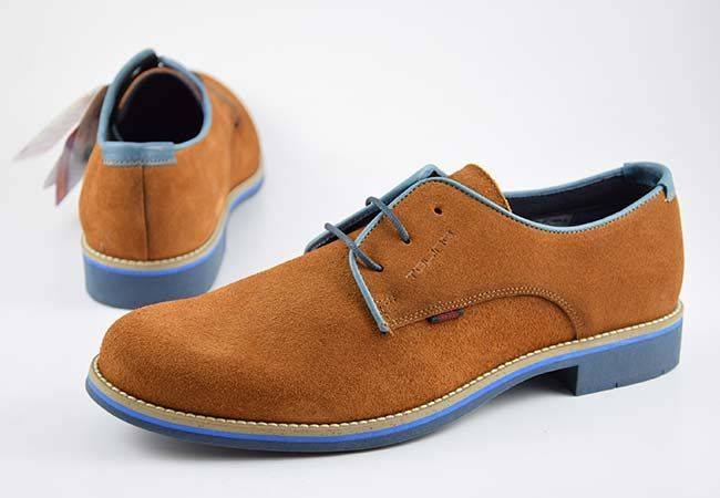 Zapato casual blucher Tolino 67200 marrón