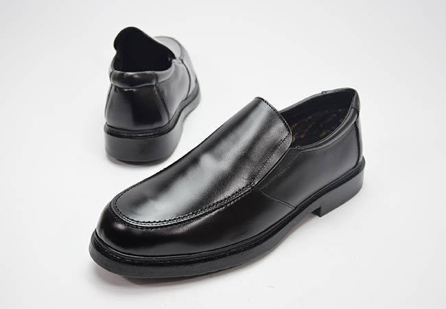 Zapato mocasín elásticos Blandos 542 negro