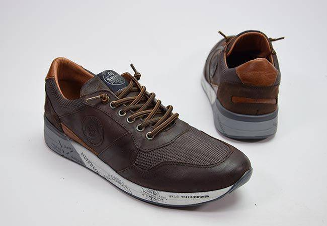 Sneaker casual elásticos DJ Santa 13342 marrón