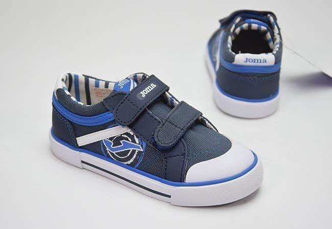 Zapatilla lona niño Joma PARKJR903 azul