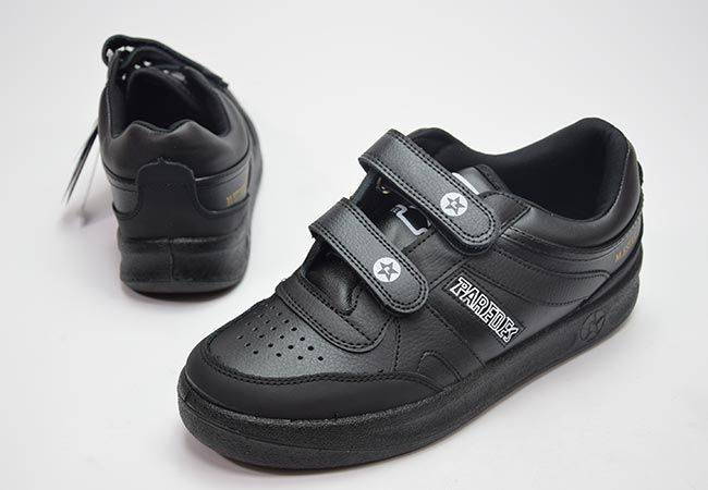 Zapatillas urban classic velcro Paredes DP101 negro