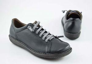 Sneaker mujer plano elásticos Boleta 200 negro