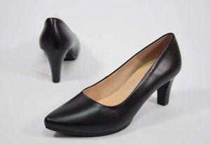 Zapato salón tacón medio Chamby 4276 negro