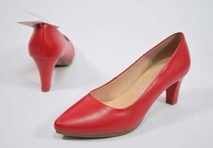 Zapato salón tacón medio Chamby 4276 rojo
