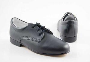 Zapato comunión niño cordones Puertorrey 8555N azul