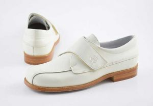 Zapato vestir comunión niño velcro Yowas 6893 beig