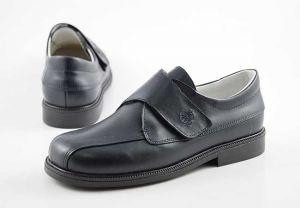 Zapato comunión niño velcro Yowas 6893 marino
