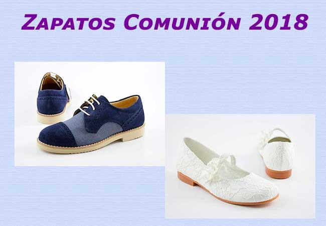 Zapatos de comunión 2018