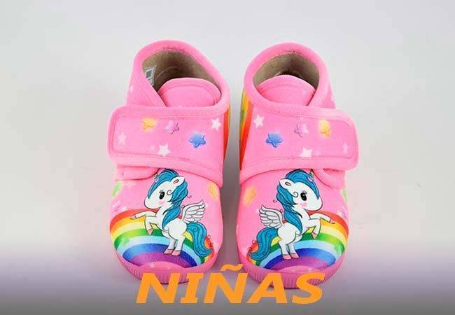 Zapatillas para estar en casa de niñas