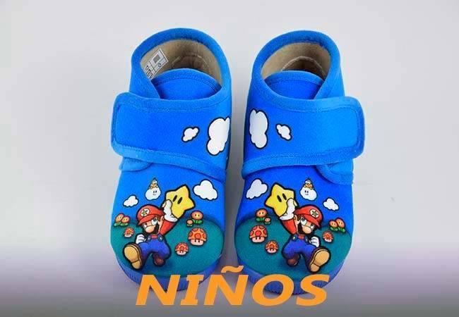 Zapatillas para estar en casa de niños