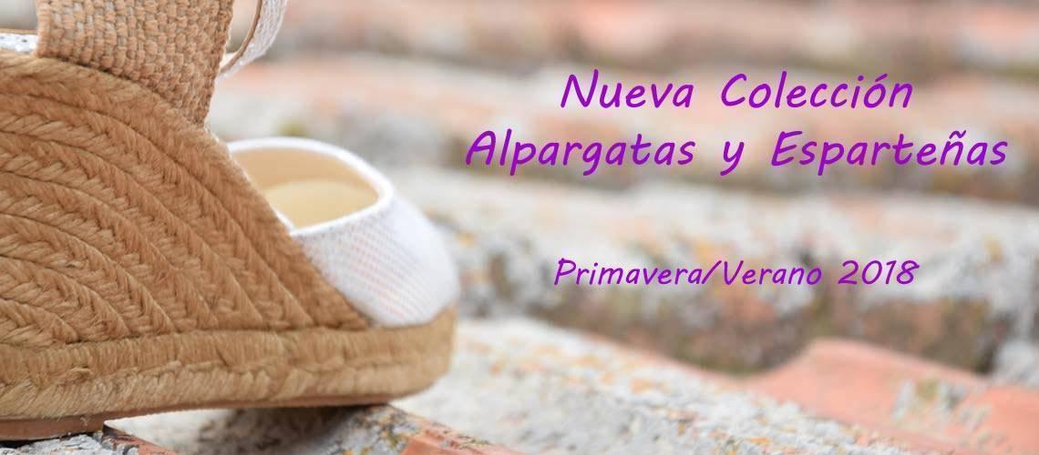 Alpargatas, esparteñas y yutes para mujer colección primavera verano 2018