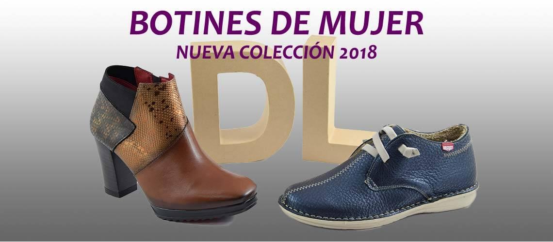 Botines mujer colección invierno 2018