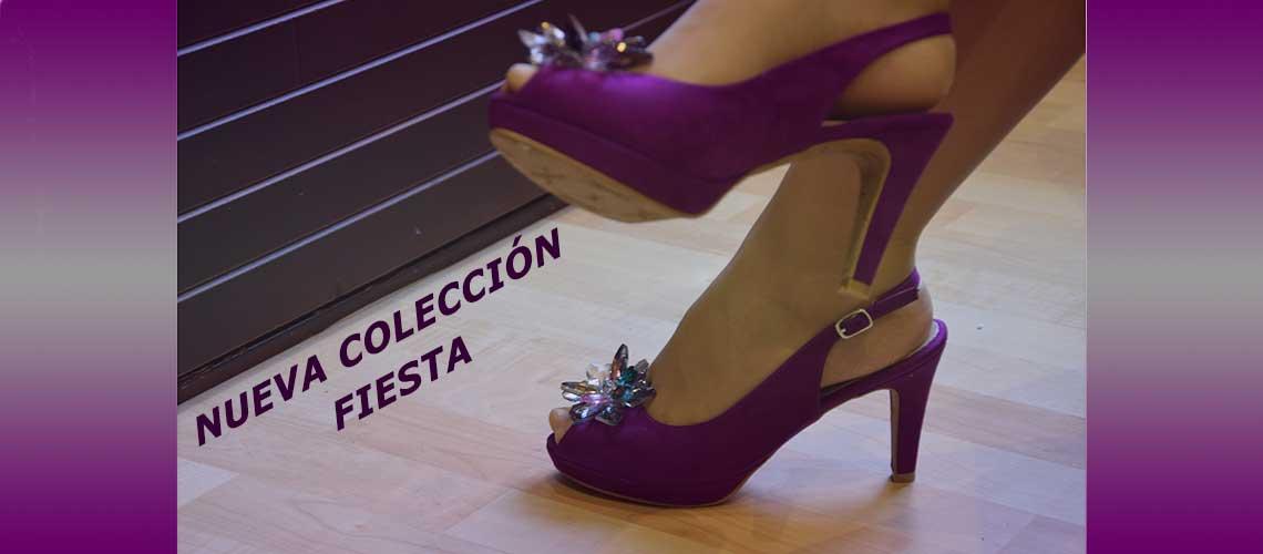Nueva colección zapato fiesta para mujer primavera-verano 2019