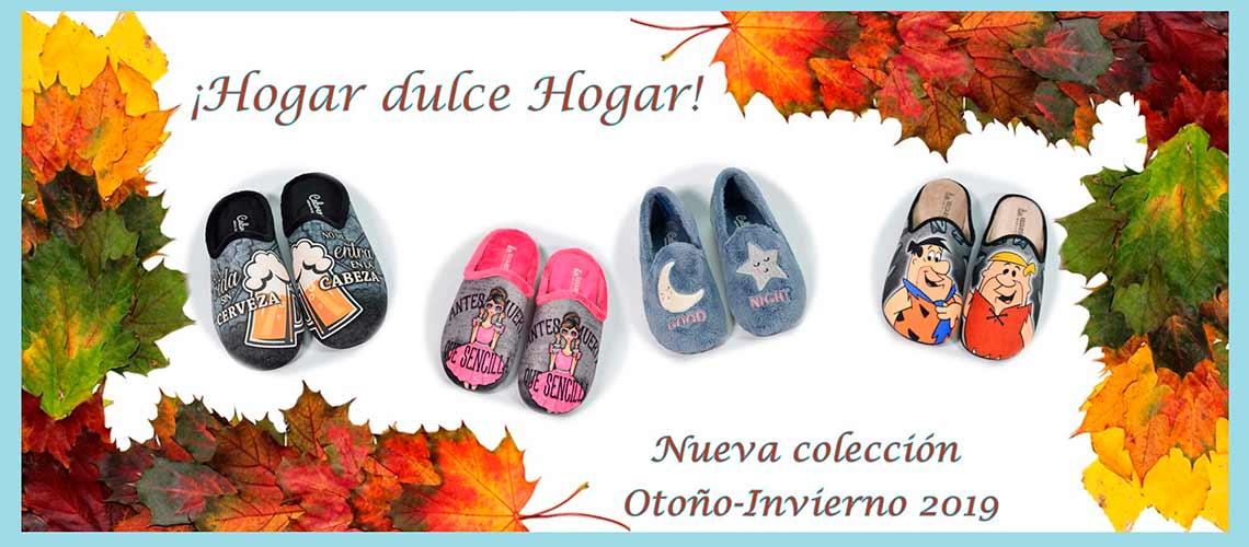 Nueva colección Zapatillas de Casa otoño-invierno 2020