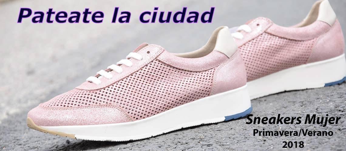 Sneakers y zapatillas urbanas mujer primavera verano 2018