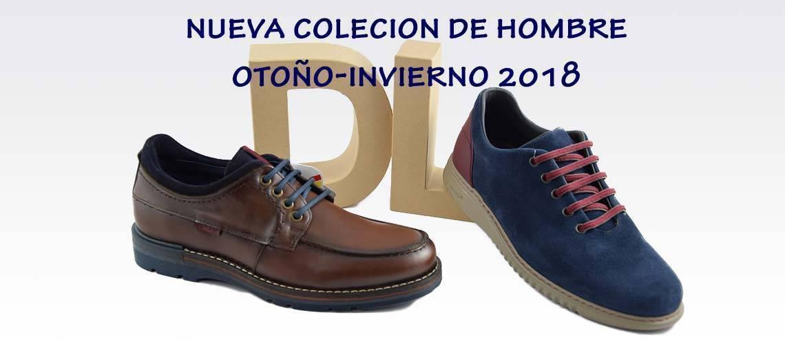Nueva colección zapatos hombre invierno 2018