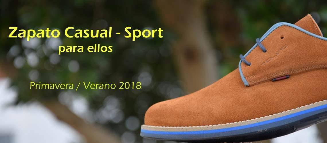 Nueva colección zapato casual sport hombre primavera verano 2018