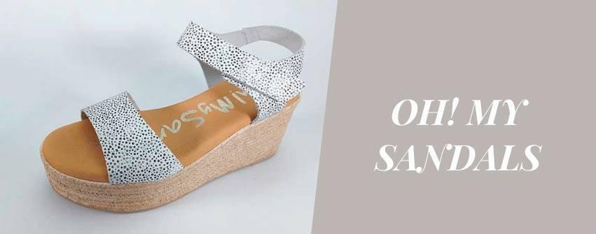 Sandalias de la marca Oh my Sandals, colección verano 2021