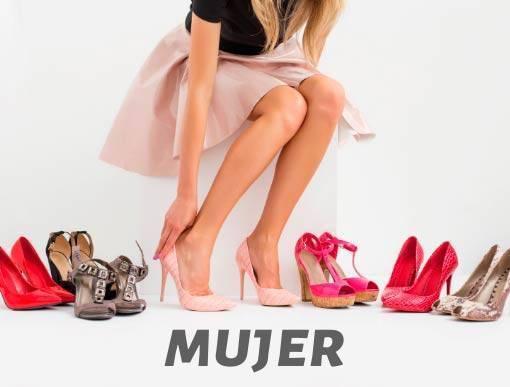 Colección de zapatos de mujer